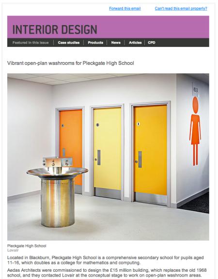 Interior Design email marketing
