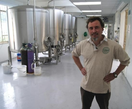 Semi-automated microbrewery system for Stroud Brewery